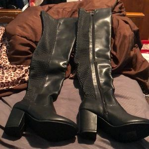 Shoes - Over the knee sexy boots size 6..
